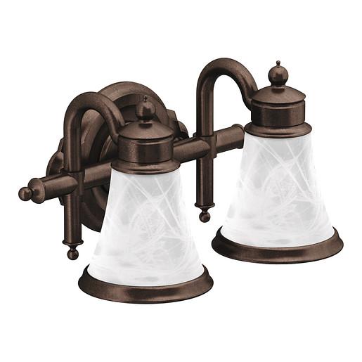 Waterhill Oil rubbed bronze Bath Light