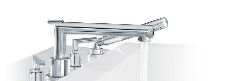 Arris Chrome Two-Handle Low Arc Bathroom Faucet TS43002
