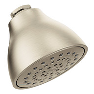 """Moen Brushed Nickel One-Function 3 3/4"""" Diameter Standard Spray Head"""