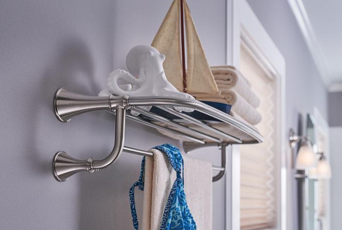 Moen Hotel Towel Shelf
