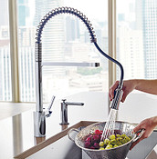 Align Chrome Pulldown Kitchen Faucet