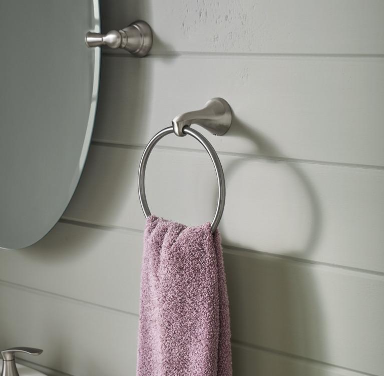 Transitional Bathroom Hardware & Accessories