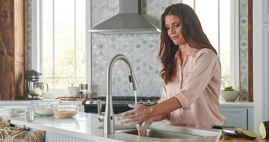 MotionSense Touchless Kitchen Faucets