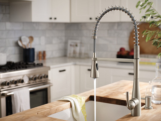 Install efficient faucets