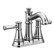 Belfield Chrome Two-Handle High Arc Bathroom Faucet