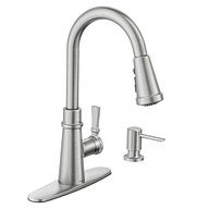 Tullis Spot Resist Stainless One-Handle Pulldown Kitchen Faucet