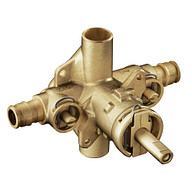 """Commercial 1/2"""" Posi-Temp® brass rough in valve includes stops"""
