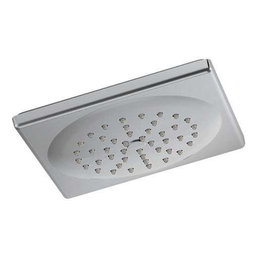 "Divine Chrome One-Function 7"" Diameter Spray Rainshower Showerhead"