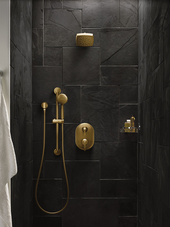 eco-performance products include wall-mount or handheld showerhead models
