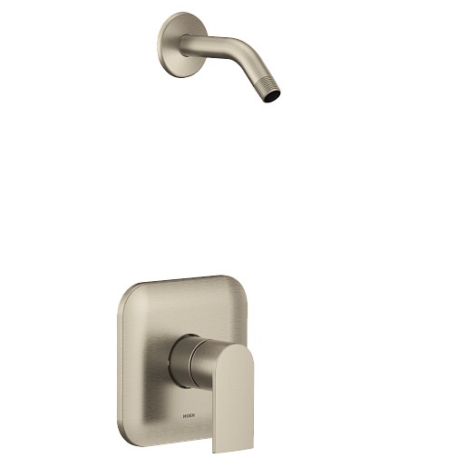 Genta LX Brushed Nickel M-CORE 4 Port Shower Only