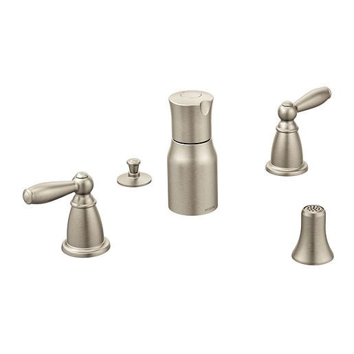 Brantford Brushed nickel Two-Handle Bidet Faucet