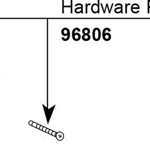 Moen Hardware Kit for a Single Handle Tub / Shower Knob