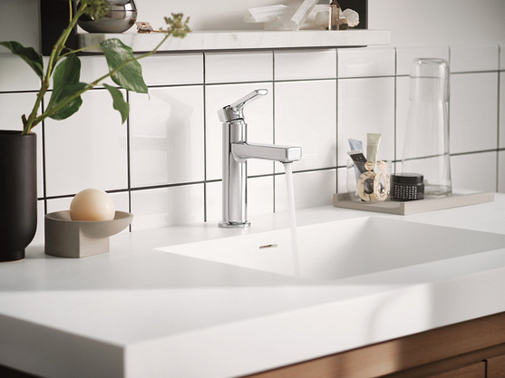 All of Moen's lavatory faucets are certified to meet WaterSense criteria