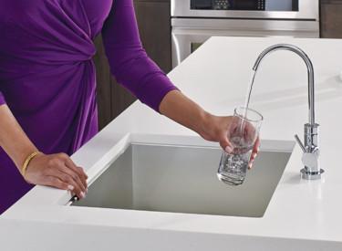 Robinets de cuisine à filtre à eau Sip