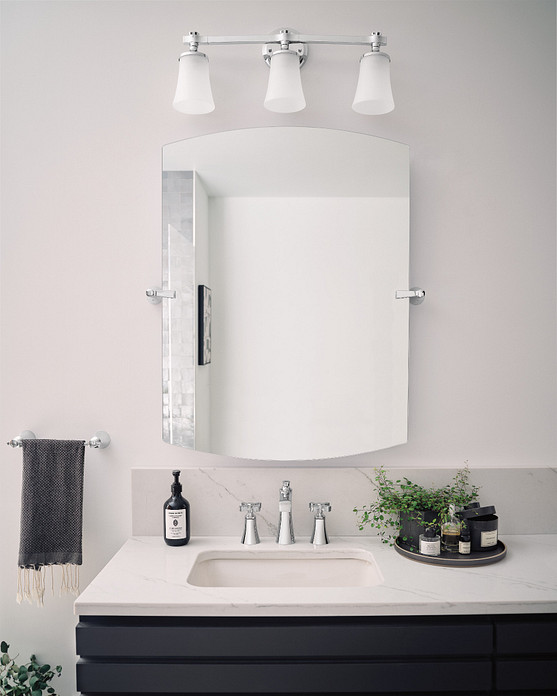 The Flara collection of bathroom faucets and accessories