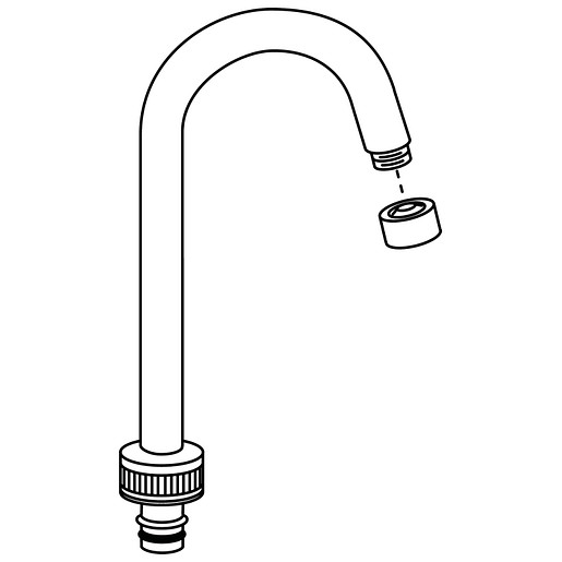 Commercial Spout Kit For 8948 And 8949 Clinic Faucets