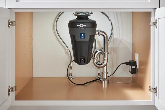 EX Series 1 Horsepower Lighted Garbage Disposal EXL100C