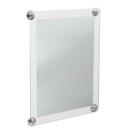 Vivid Chrome mirror