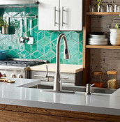 MotionSense Pulldown Kitchen Faucet for Cooking