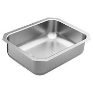 """1800 Series 23-1/2"""" x 18-1/4"""" stainless steel 18 gauge single bowl sink"""