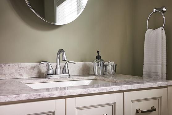 Chrome Center Set Bath Faucet