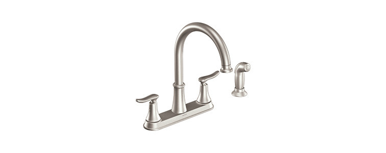Moen Two Handle Kitchen Faucet