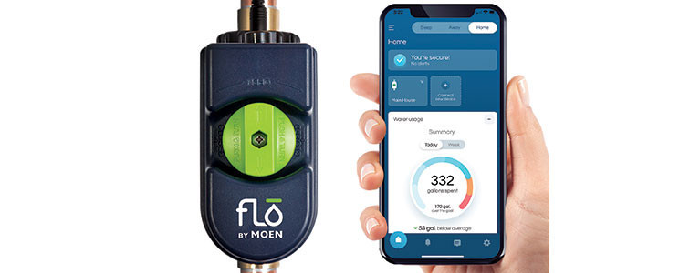Flo by Moen Smart Water Shutoff