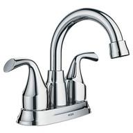 Idora Chrome Two-Handle Bathroom Faucet