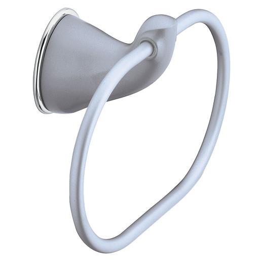 Villeta Platinum/chrome towel ring