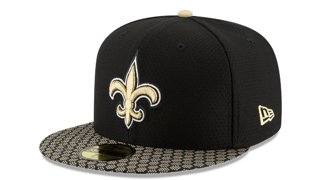 NEW ORLEANS SAINTS OFFICIAL SIDELINE 59FIFTY FITTED