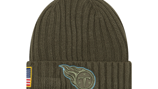 TENNESSEE TITANS SALUTE TO SERVICE KNIT