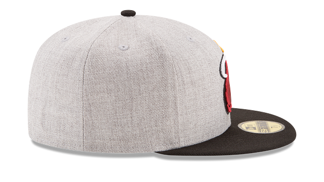 MIAMI HEAT HEATHER ACTION 59FIFTY FITTED