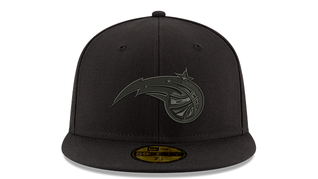 ORLANDO MAGIC BLACK ON BLACK 59FIFTY FITTED
