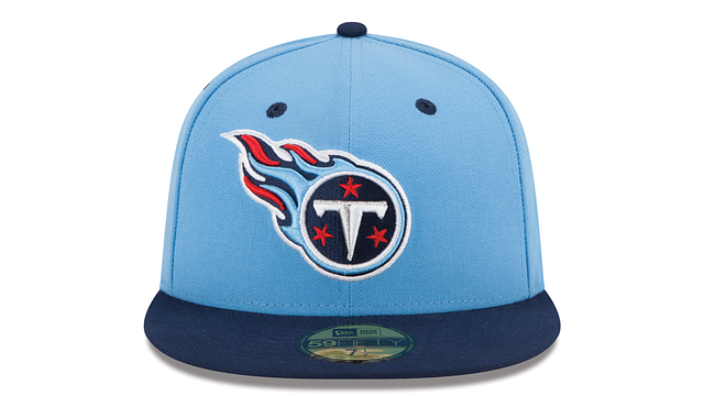 TENNESSEE TITANS 2TONE 59FIFTY FITTED