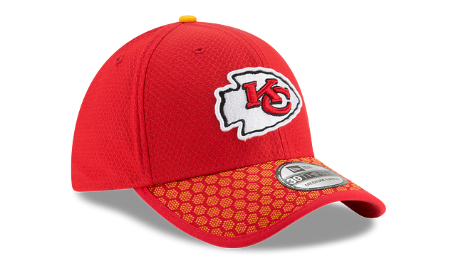 KANSAS CITY CHIEFS OFFICIAL SIDELINE 39THIRTY STRETCH FIT