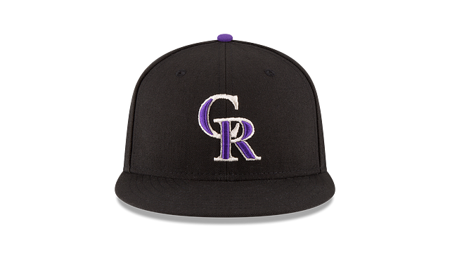 KIDS COLORADO ROCKIES AUTHENTIC COLLECTION 59FIFTY FITTED Front view
