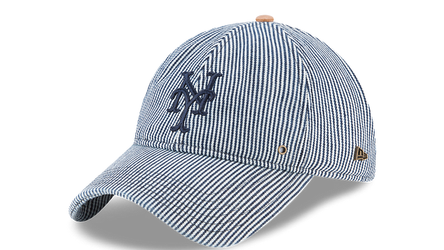 NEW YORK METS PINSTRIPE 9TWENTY ADJUSTABLE