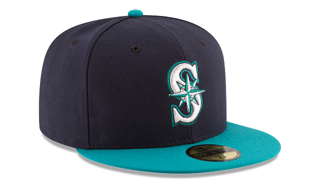 SEATTLE MARINERS AUTHENTIC COLLECTION 59FIFTY FITTED
