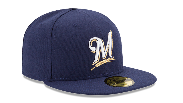 KIDS MILWAUKEE BREWERS MY FIRST AC 59FIFTY FITTED