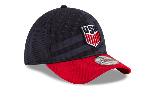 USA SOCCER STARS AND STRIPES 39THIRTY STRETCH FIT