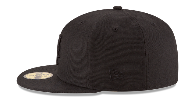 NEW YORK METS BLACK ON BLACK 59FIFTY FITTED