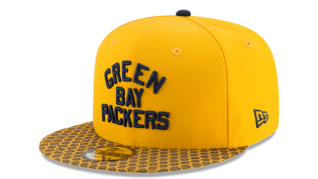 GREEN BAY PACKERS OFFICIAL SIDELINE 9FIFTY SNAPBACK