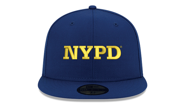 NYPD WORDMARK 59FIFTY FITTED