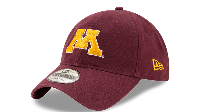 MINNESOTA GOLDEN GOPHERS CORE CLASSIC 9TWENTY ADJUSTABLE