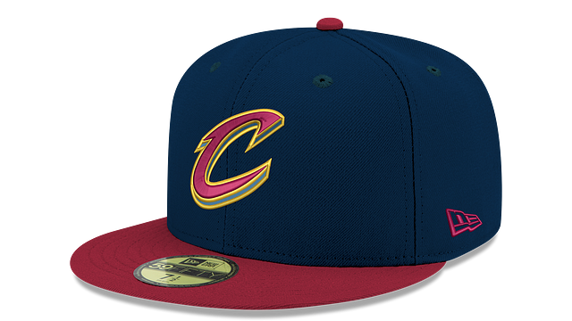 CLEVELAND CAVALIERS 2TONE 59FIFTY FITTED