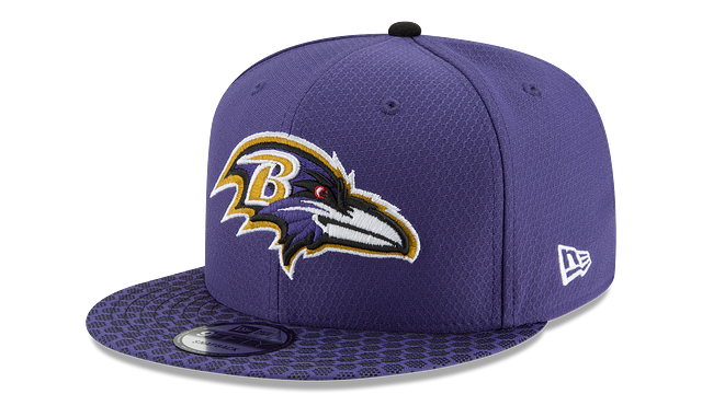 BALTIMORE RAVENS OFFICIAL SIDELINE 9FIFTY SNAPBACK