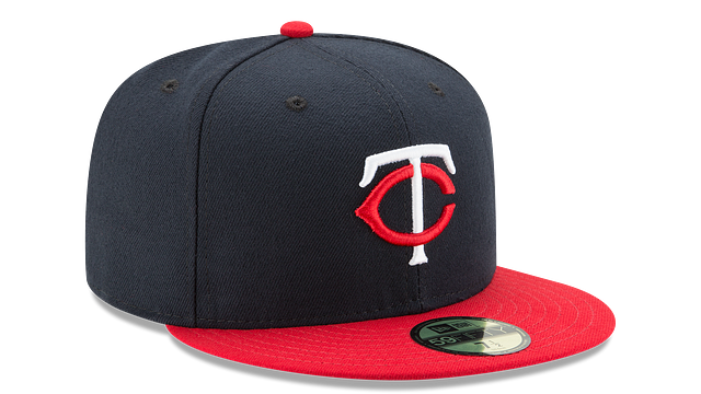 KIDS MINNESOTA TWINS AUTHENTIC COLLECTION 59FIFTY FITTED