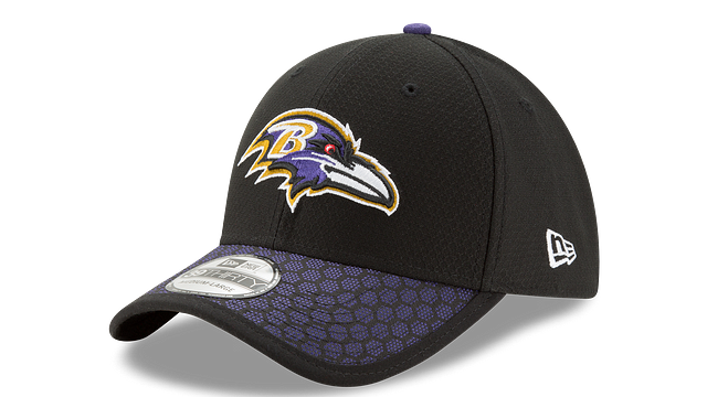 BALTIMORE RAVENS OFFICIAL SIDELINE 39THIRTY STRETCH FIT