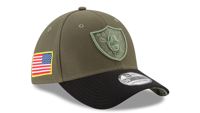 OAKLAND RAIDERS SALUTE TO SERVICE 39THIRTY STRETCH FIT