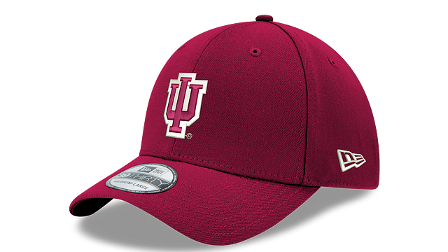 INDIANA HOOSIERS TEAM CLASSIC 39THIRTY STRETCH FIT